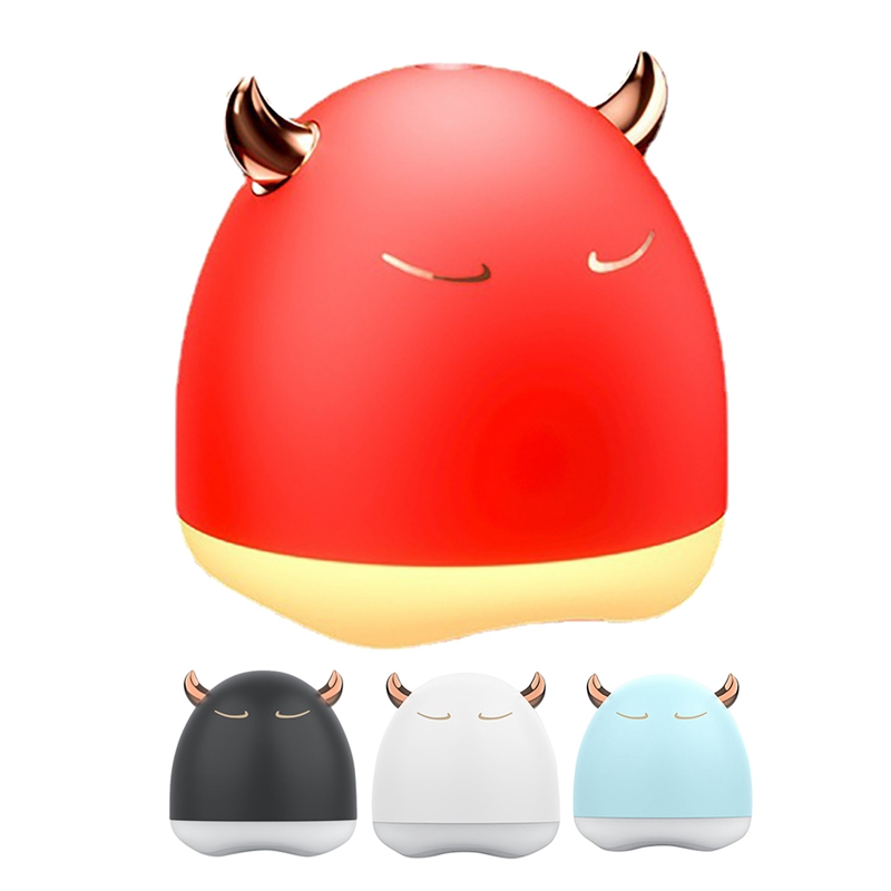 Portable 280Ml Electric Air Humidifier Diffuser USB with Colorful Night Light for Home Car