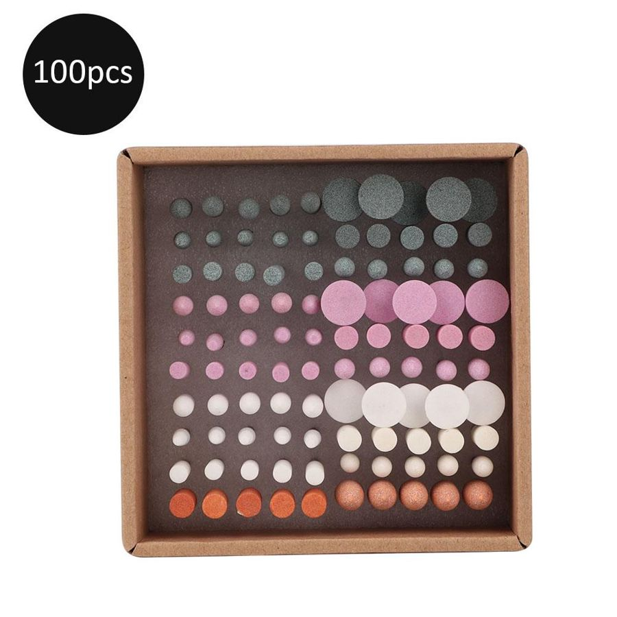 Máquina de manicure 100 pçs profissional prego