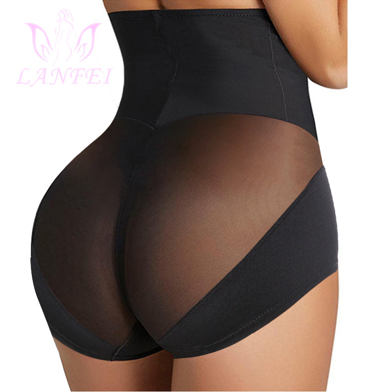 LANFEI Womens High Waist Trainer Body Shaper Panties Faja Tummy Control Slimming Seamless Underwear Shapewear Butt Iifter Briefs