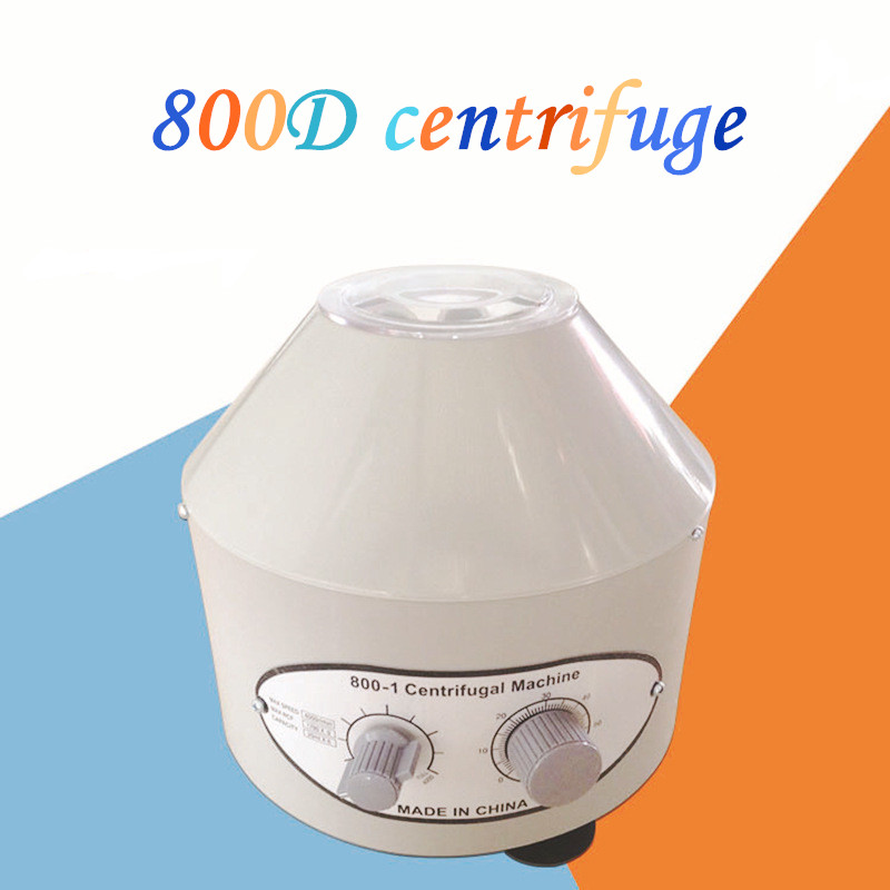 Small 800D Centrifuge Desktop Electric Laboratory Centrifuge 800-1 Laboratory Separation Equipment