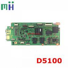 Placa base de segunda mano para Nikon D5100, pieza de repuesto para placa base, Tablero Principal, placa madre, PCB, imagen, unidad de reemplazo de cámara para reparación