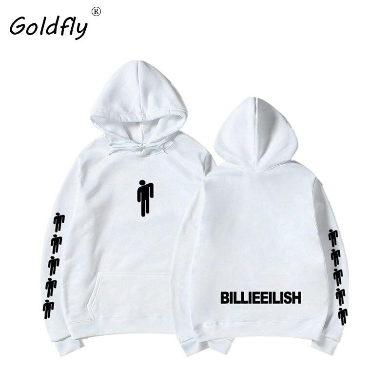 Goldfly Billie  Fashion Printed Hoodies Women/Men Long Sleeve Hooded Sweatshirts 2019 Hot Sale Casual Trendy Streetwear Hoodies