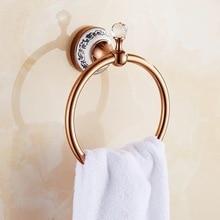 Роза бог латунь полотенце держатель ванна полка полотенце вешалка вешалки люкс ванная аксессуары стена навесное полотенце штанга