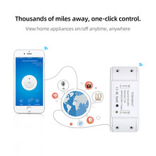 TISHRIC Grundlegende 1 Gang Wifi Smart Switch Modul/220-240V/Gesteuert Ewelink/Alexa/Google assistent Home Automation Smart Home