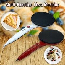 Electric Crepe Maker Pizza Pancake Machine 220v Non-stick Griddle Pancake Pan Kitchen Cooking Tools Portable Pancake Pan