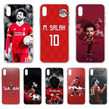 Фото - football soccer athlete Mohamed Salah Transparent Phone Case For iphone 4 4S 5 5C 5S 6 6S PLUS 7 8 X XR XS 11 PRO SE 2020 MAX ahmed mohamed salah gestión administrativa del proceso comercial adgd0308