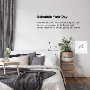 Image 2 - Acckip Wifi Smart Plug Franse 13A Met Google Home Alexa Afstandsbediening Het Apparaat Stopcontact