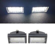 2x Weiß SMD Led Kennzeichen Lichter Für Benz ML W164 X164 Ersetzen OEM: a4528200056 Für Smart Roadster 452 2003-2006