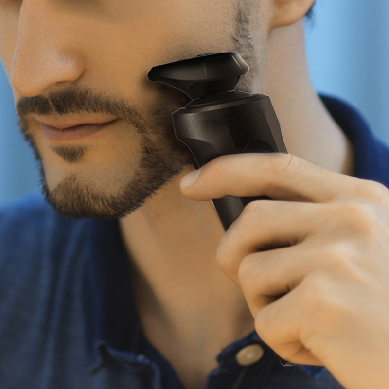 UICINOY Electric Razor Shaver for Men IPX7 Waterproof Washable Removable Precision Beard Hair Trimmer Mens Rotary Shavers 2