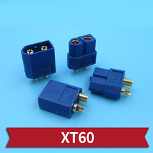 High Current XT60 Plug Male Female XT60 Battery Connector Durable Charger/ESC Plugs for RC Model Car/ Boats Connecting Parts wild scorpion 7 4v 1800mah 2cell 30c xt60 plug for rc model