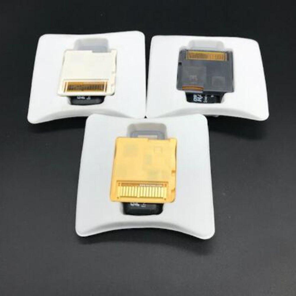 Новинка 2020 г., видеокарта R4 SDHC золотого, белого, серебряного цвета, самостоятельная загрузка с розничной коробкой (без TF-карты)