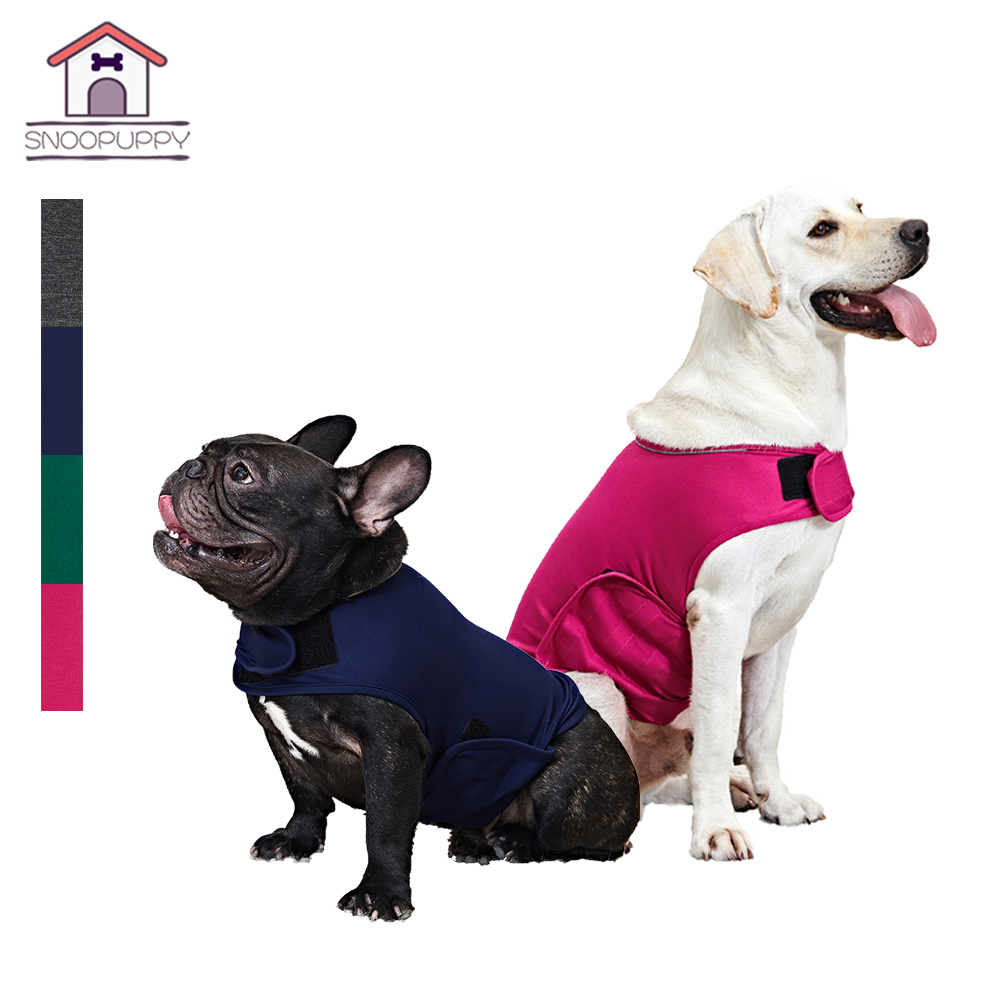 Dog Anxiety Jacket Shirt Anti-Anxiety Calming Harness Thunder Vest Coat For Pets Small Medium Large Dogs Keep Calm Soft Clothes