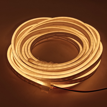Recessed Diy Flexible Led Strip Dc 12V Smd2835 Waterproof Ip65 Neon Lights Cuttable Silicone Tube Fit for Decorative Lights image