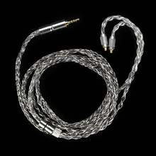 Оригинальный BGVP DM6 400 провод 6N OCC посеребренный кабель для наушников Универсальный MMCX 0,78 2 контактный Hi Fi наушники замена кабеля