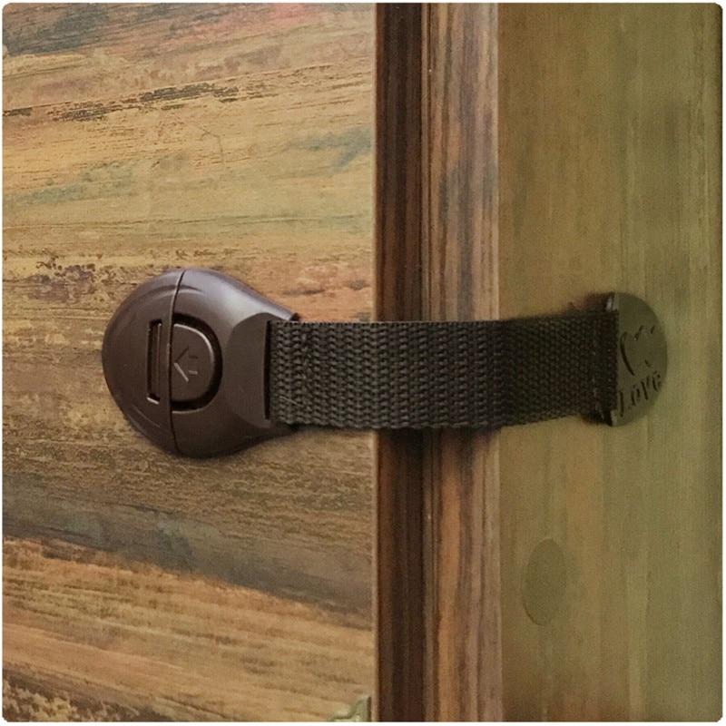 5/1pcs/lot Drawer-Lock Lock-Protection Locking-Doors Baby Safety Child of Plastic