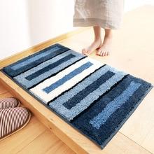 1 pc Flocking household carpet mats wholesale bathroom bathtub absorbent pad skid