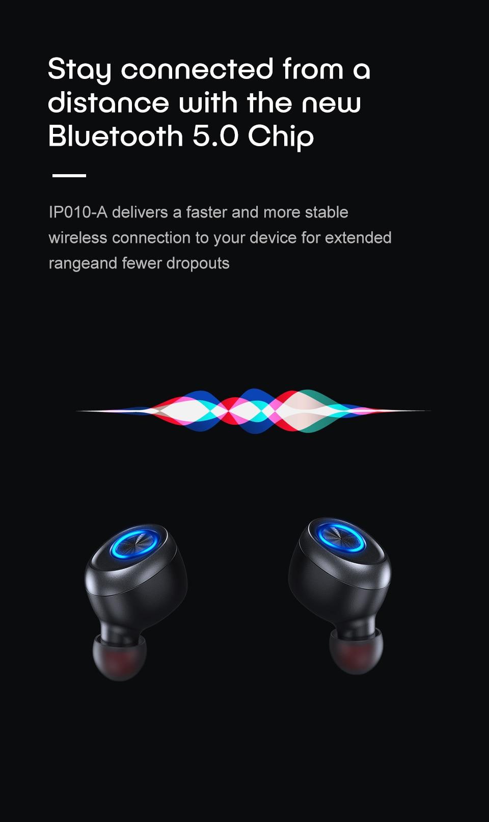 Anomoibuds капсулы TWS беспроводные наушники V5.0 Bluetooth наушники бас стерео звук спортивные наушники для samsung Xiaomi Iphone