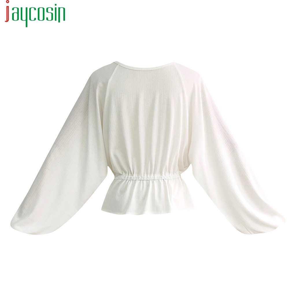 Wanita T-shirt Katun Linen Lengan Panjang Longgar Plus Ukuran Pinggang Katun Leher O Wanita Top Kasual Bernapas Sport Menjalankan Femme tee