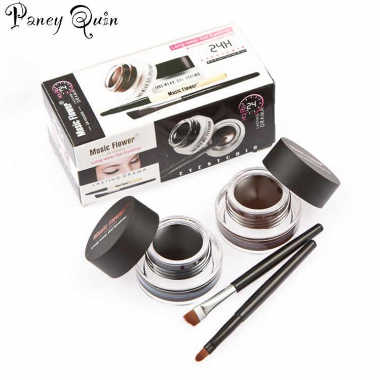 Kit de ferramentas de maquiagem gel delineador olho forro sobrancelha lápis batom sobrancelha em pó rímel conjunto de maquiagem cosmética