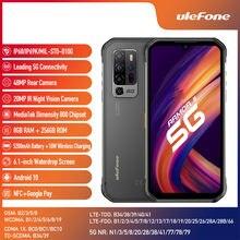 Ulefone Armor 11 6.1 ''Android 10 8Gb 256Gb Smartphone 5200Mah 48MP 5G Robuuste Nfc Mobiele telefoon Draadloos Opladen