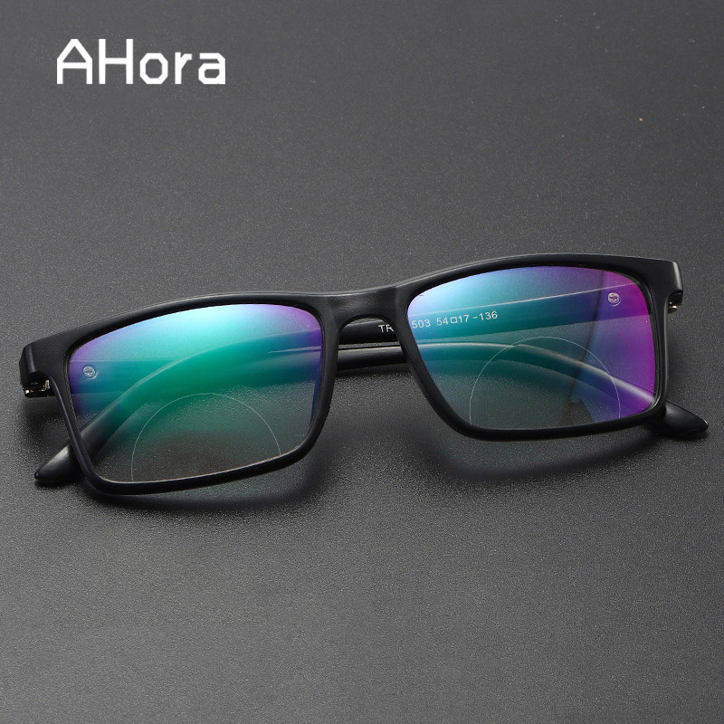 Ahora Bifocal Reading Sun Glasses Men Women Anti Blue Rays Light Presbyopia Eyeglasses Presbyopia Sunglasses Diopter +1.0 To 4.0