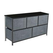 Organizer Dresser Storage-Box Furniture Removable Drawer Cabinet No Chest-Of-5 Toy Multifunction