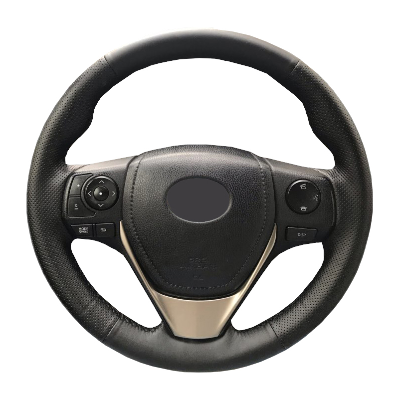 Artificial Leather car steering wheel braid for Toyota RAV4 2013-2016 Toyota Corolla 2014-2016 Scion/Custom made Steering cover