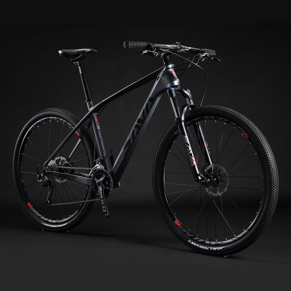 SAVA велосипед углеродный велосипед горный велосипед углеродный 29 дюймов взрослый горный велосипед 29er углеродная рама для мужчин с SHIMANO 27 ско...