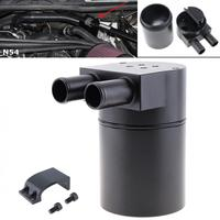 Aluminum Alloy Black Car Refit Oil Pot Engine Modified Breathable Oil Recovery Bucket Car Styling for BMW N54 335i 535i|Oil and Gas Separator|   -