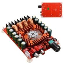 TDA7498E 2 kanal dijital ses yüksek güç amplifikatörü panoları modülü BTL220W 160W + 160W DC 15 36V AMP kurulu