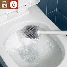 Youpin Yj Verticale Opslag Wc Borstel Zachte Lijm Haren Toiletborstel En Beugel Set Badkamer Wc Schoonmaken Tool