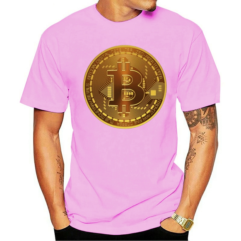 Time For Plan Bitcoin BTC Crypto Currency T Shirt Short Sleeve Custom T-shirts Pp Camiseta Cotton Crewneck T-shirt