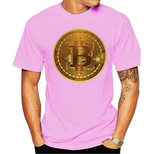 Time For Plan Bitcoin BTC Crypto Currency T Shirt Short Sleeve Custom T-shirts Pp Camiseta Cotton Crewneck T-shirt