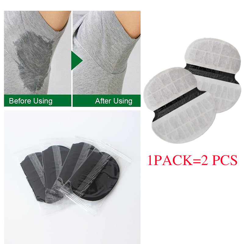 New Colors Armpits Care Sweat Pads 50pcs Black Anti Perspiration Patch Underarm Shirt Deodorants Stickers Disposable Pads