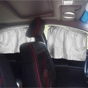 Image 5 - 2 pièces voiture rideau pare soleil fille voiture accessoires décoration maison tableau de bord suspendu pendentif Auto intérieur accessoire