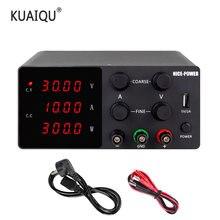 Interruptor de fuente de alimentación CC de laboratorio ajustable, 30V, 10A, 120v, 3a, Unidad Digital de Control de potencia, estabilizador de corriente de 220v y 110V