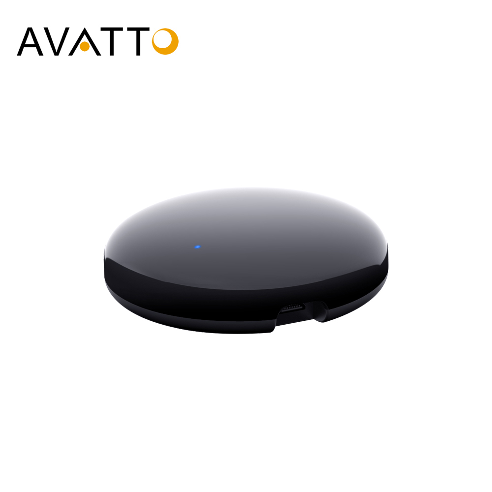AVATTO Tuya Universal WiFi IR Remote Controller Smartlife APP Remote Control Smart Home Automation Work for Google HomeAlexa