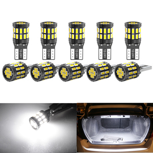 Image 1 - 10pcs T10 W5W Led Car Canbus Light Bulbs For BMW E46 F20 F30 X3 X4 X5 X6 Z1 Z4 Z3 M3 Interior Reading Parking Lights No Error