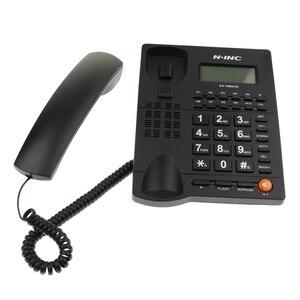 Image 3 - 固定電話コード付きホームオフィスデスク電話バックライトディスプレイ発信者 ID