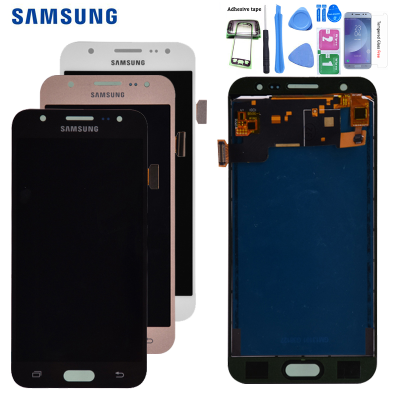 AAA For Samsung GALAXY J5 J500 <font><b>J500F</b></font> J500FN J500M J500H 2015 <font><b>LCD</b></font> Display With Touch Screen Digitizer Assembly Free shipping image