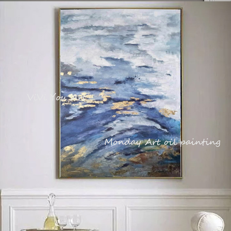 100-Hand-Painted-Abstract-Golden-Scenery-Painting-On-Canvas-Wall-Art-Wall-Adornment-Pictures-Painting-For (1)