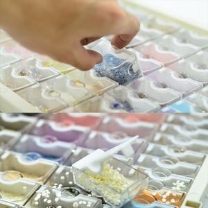 Image 2 - Huacan yeni elmas boyama saklama kutusu aksesuarları 5d DIY elmas nakış mozaik aracı