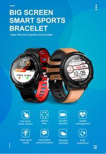 Image 3 - L3 สมาร์ทนาฬิกา IP68 กันน้ำ Full Touch Screen smartwatch Heart Rate Pedometer กิจกรรมสมาร์ท Tracker
