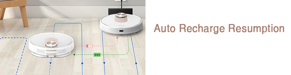 VIOMI SE Y-type Electric Mop Sweeping Robot Vacuum Cleaner, Mijia APP, Save 5 Maps 7 Schedule, Carpet Hair Pet Dust Collecto 15