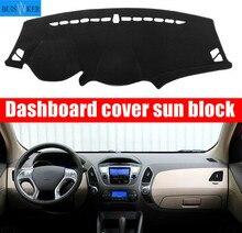 цена на For Hyundai Tucson IX35 2010 2011 2012 2013-2015 Car Dashboard Cover Mat Pad Sun Shade Instrument Carpet Car Styling Accessories