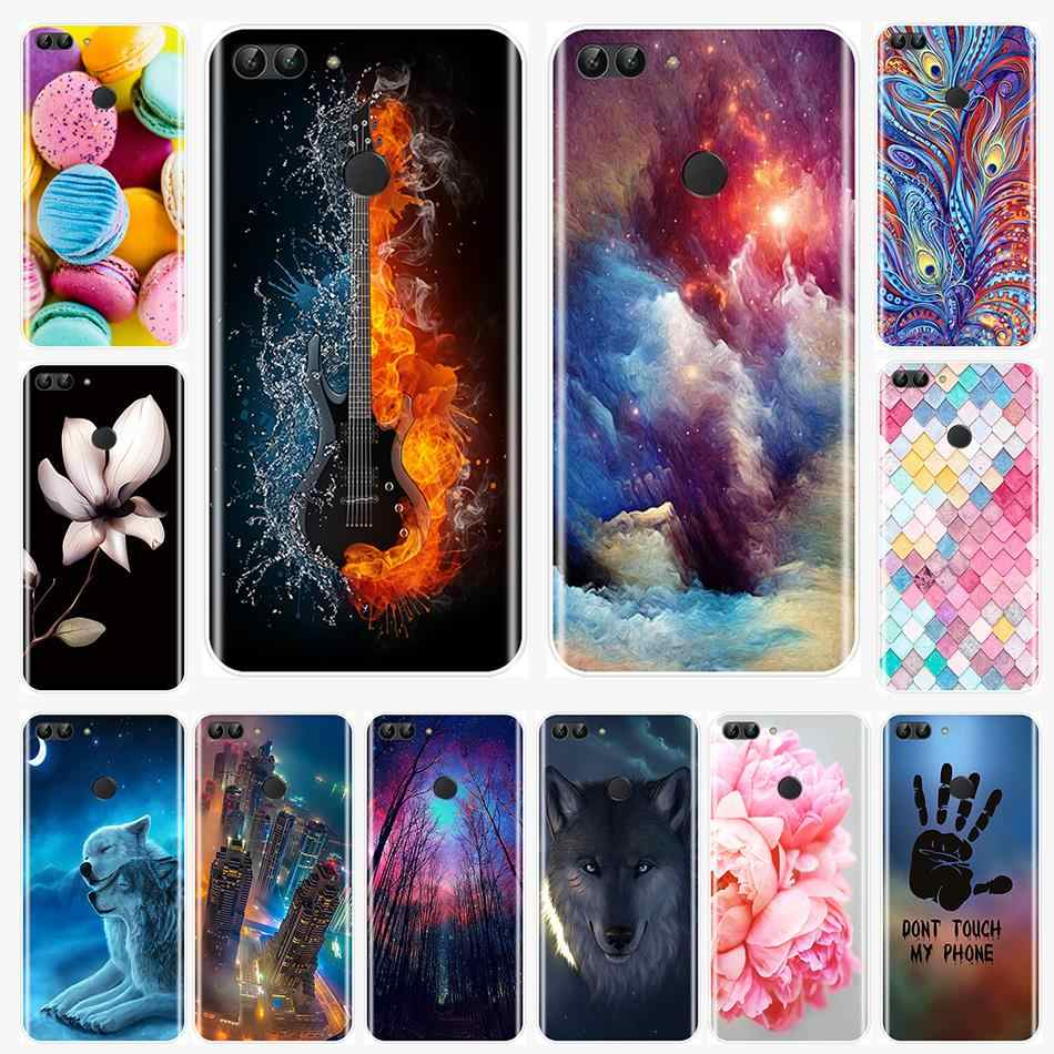 Back Cover For Huawei P9 Lite Mini P10 P20 Pro P Smart Plus 2019 Soft Silicone Phone Case For P10 P20 P8 P9 Lite 2017