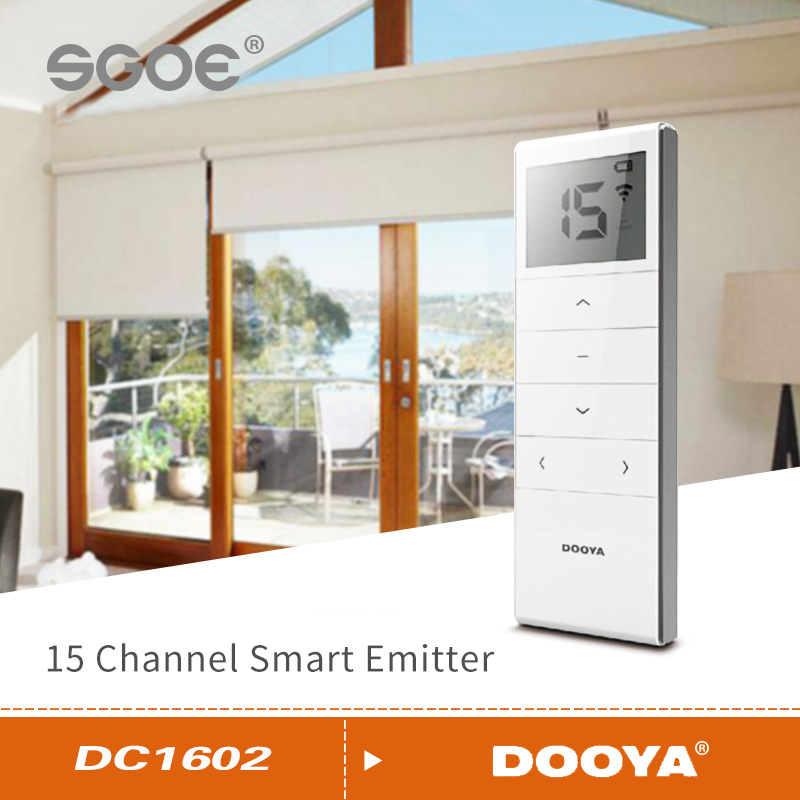 Dooya Smart Home Curtain Motor Remote Control DC1600 DC1602 DC1650 DC1651 DC2700 DC2702 DC2760 For Dooya Electric Curtain Motor