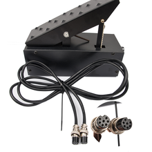 7 pins Amperage Controller Foot Pedal for TIG Welding Machine Plasma Cutter Power Control Welder Foot Pedal(China)