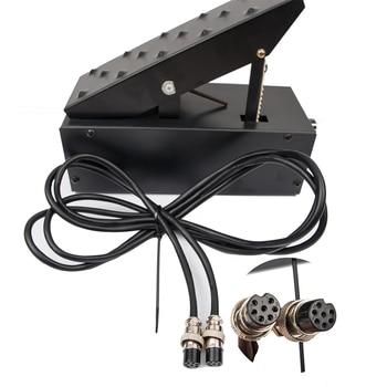 цена на 7 pins  Amperage Controller Foot Pedal for TIG Welding Machine Plasma Cutter Power Control Welder Foot Pedal