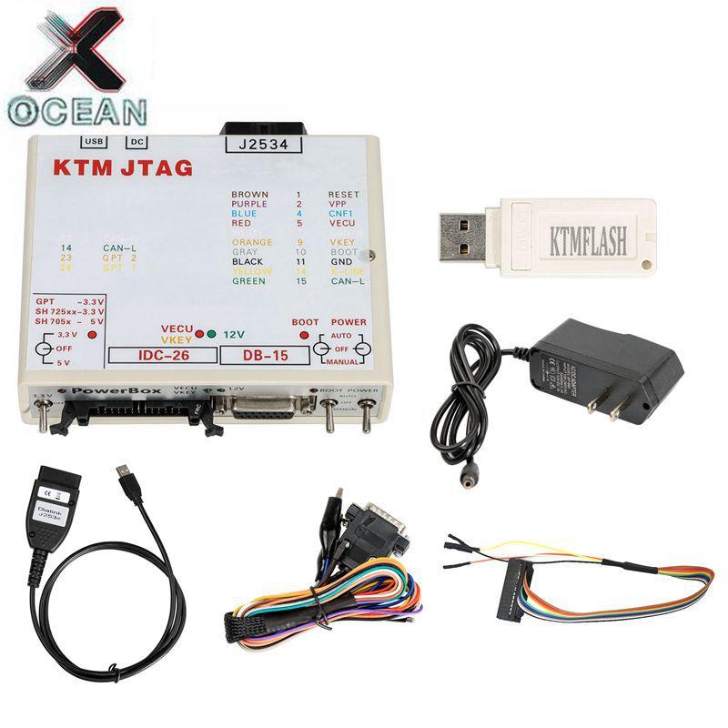 KTMFLASH Alimentazione ECU Strumento di Aggiornamento Programmatore & ECU Trasmissione Nuovo V1.95 KTM Flash DiaLink J2534 Cavo di Sostegno 271 MSV80 MSV90